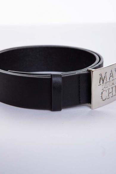 Mayo Chix - Strasszos Kocka Öv (Ezüst)
