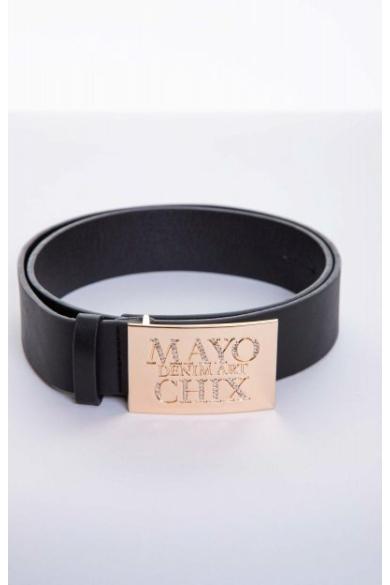 Mayo Chix - Strasszos Kocka Öv (Arany)